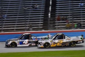 Todd Gilliland, Kyle Busch Motorsports, Toyota Tundra Mobil 1, Sheldon Creed, GMS Racing, Chevrolet Silverado Chevrolet Accessories