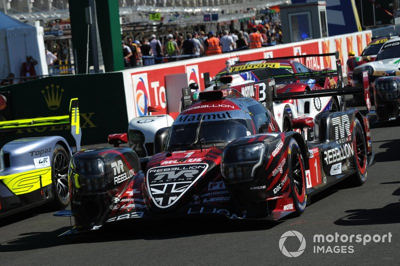 #1 Rebellion Racing Rebellion R-13 - Gibson: Neel Jani, Andre Lotterer, Bruno Senna