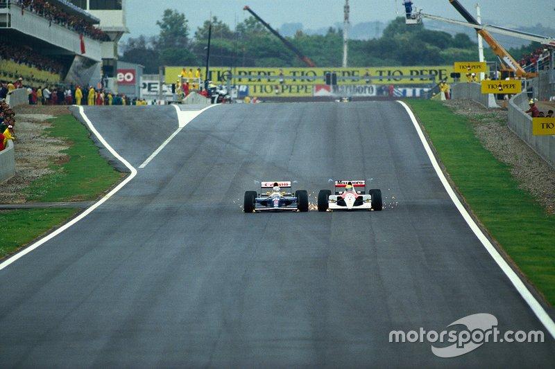 1991: Senna contra Mansell