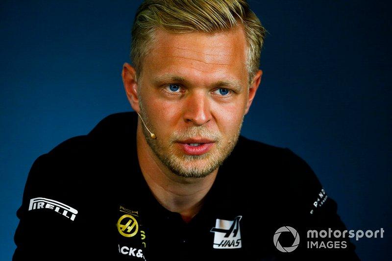 Kevin Magnussen, Haas F1 alla Conferenza Stampa