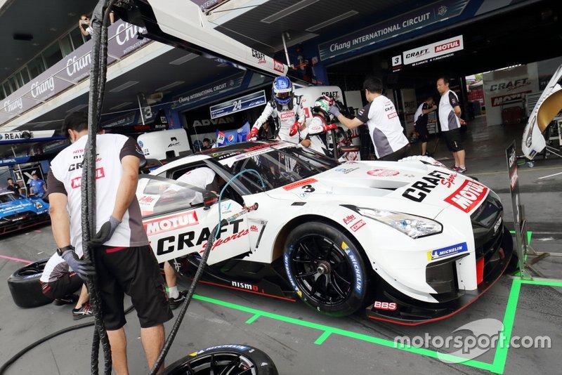 #3 B-Max Racing team Nissan GT-R