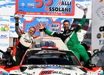 Marco Menchini, Ivan Ballinari, Skoda Fabia R5, Lugano Racing Team