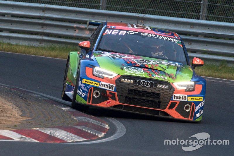 #93 Bonk Motorsport Audi RS3: Hermann Bock, Max Partl, Jürgen Nett, Achim Nett
