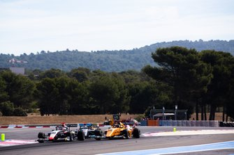 Leonardo Pulcini, Hitech Grand Prix ans Sebastian Fernandez, Campos Racing