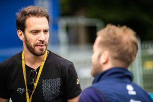 Jean-Eric Vergne, DS TECHEETAH, parla a Sam Bird, Envision Virgin Racing