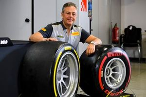 Mario Isola, Racing Manager, Pirelli Motorsport presents the new F2 tyres