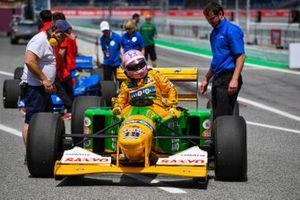 Lorina McLaughlin, Benetton B192 Ford