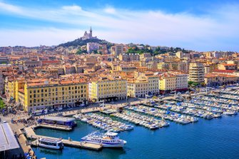 Marseille - France's second largest city and steeped in history
