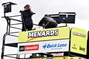 Greg Erwin, Paul Menard, Wood Brothers Racing, Ford Mustang Menards / Dutch Boy