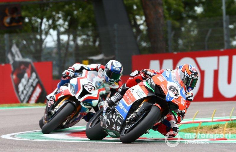Lorenzo Zanetti, Ducati, Markus Reiterberger, BMW Motorrad WorldSBK Team