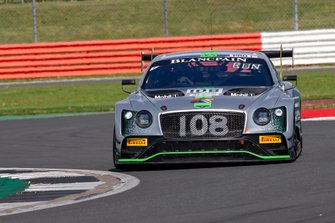 #108 Bentley Team M-Sport Bentley Continental GT3: Alex Buncombe, Andy Soucek, Maxime Soulet