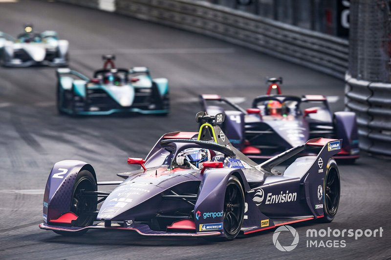 Sam Bird, Envision Virgin Racing, Audi e-tron FE05 Robin Frijns, Envision Virgin Racing, Audi e-tron FE05