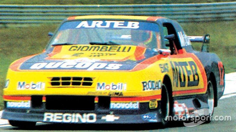1991 - Ingo Hoffmann (5) e Ângelo Giombelli - Chevrolet Opala