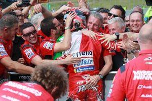 Race winner Danilo Petrucci, Ducati Team