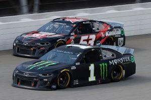 Kurt Busch, Chip Ganassi Racing, Chevrolet Camaro Monster Energy, Garrett Smithley, Rick Ware Racing, Chevrolet Camaro Kendall Motor Oil