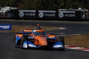 Alex Palou, Chip Ganassi Racing Honda, pole sitter, ntt pole award