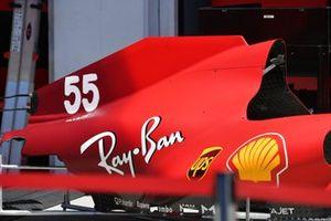 Ferrari SF21 engine hood