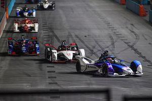 Maximilian Gunther, BMW i Andretti Motorsport, BMW iFE.21, Pascal Wehrlein, Porsche, Porsche 99X Electric, Robin Frijns, Envision Virgin Racing, Audi e-tron FE07