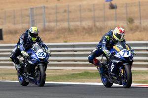 Dominique Aegerter, Ten Kate Racing Yamaha, Luca Bernardi, CM Racing