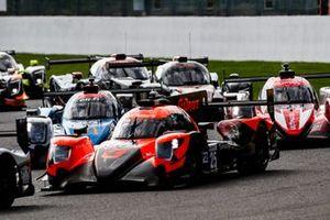 #25 G-Drive Racing Aurus 01 - Gibson LMP2, John Falb, Rui Andrade, Roberto Merhi, al inicio