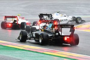 Matteo Nannini, HWA Racelab, Arthur Leclerc, Prema Racing and Lorenzo Colombo, Campos Racing