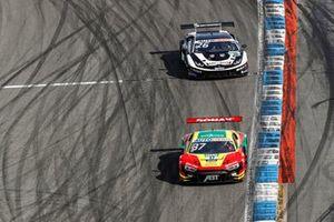 Lucas di Grassi, Abt Sportsline Audi R8 LMS GT3, Esmee Hawkey, T3-Motorsport Lamborghini Huracan Evo GT3