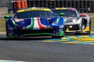 #47 Cetilar Racing Ferrari 488 GTE EVO LMGTE Am, Roberto Lacorte, Giorgio Sernagiotto, Antonio Fuoco
