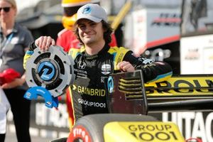 Pole sitter Colton Herta, Andretti Autosport w/ Curb-Agajanian Honda