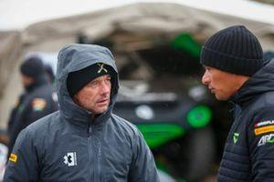 Sebastien Loeb, X44, e Stephane Sarrazin, Veloce Racing