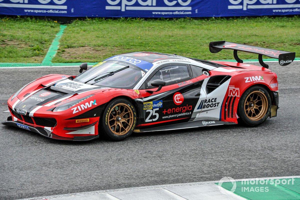 #25 RS Racing, Ferrari 488 GT3 Evo: Daniele Di Amato, Alexander Nussbaumer