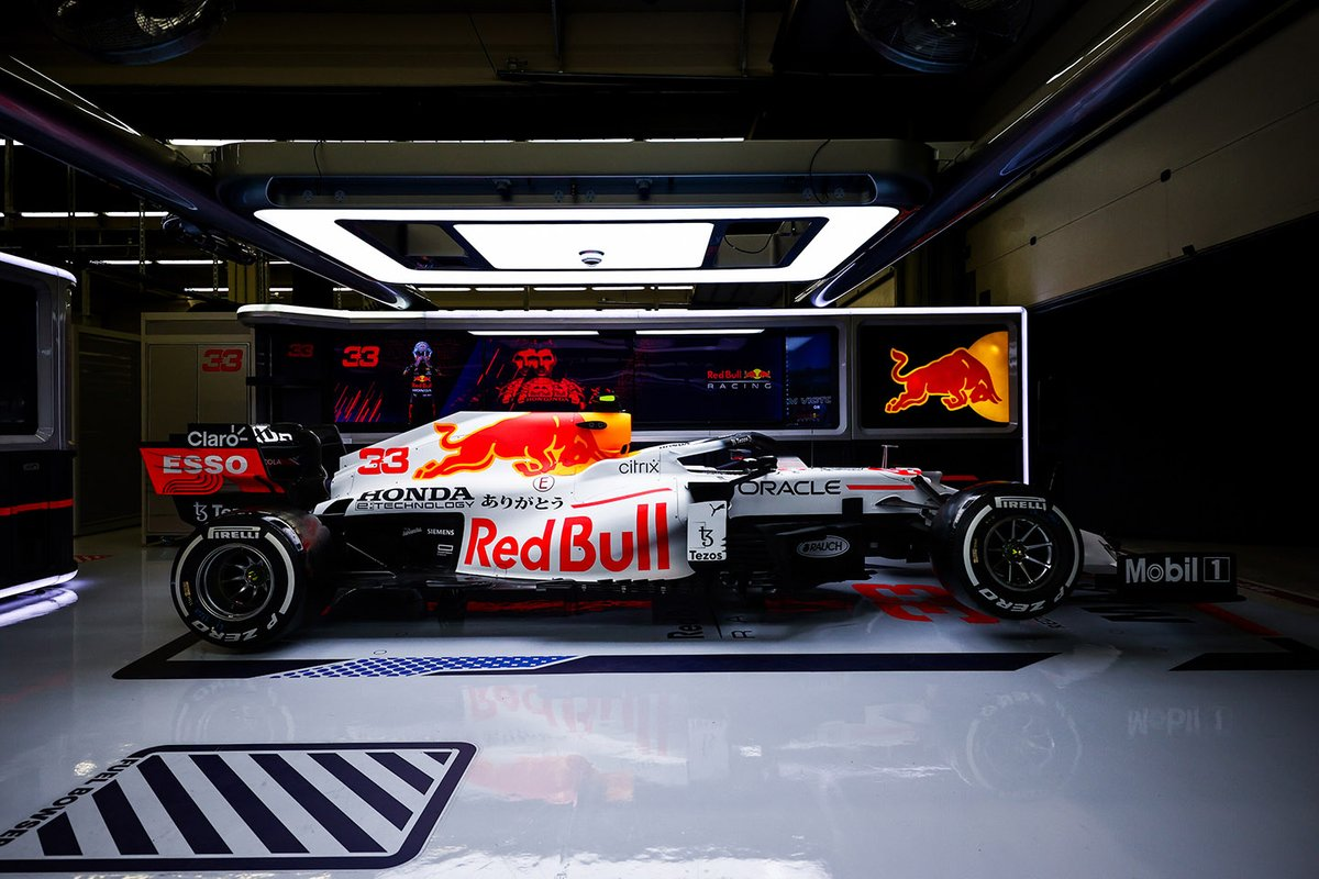 Red Bull Racing RB16B white livery