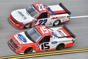 Tanner Gray, Team DGR, Ford F-150 Ford Performance, Austin Wayne Self, AM Racing, Chevrolet Silverado AIRBOX/AM Technical Solutions