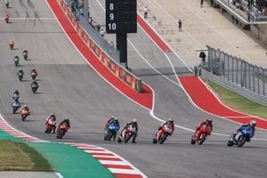 Renn-Action beim GP Amerika 2021 in Austin