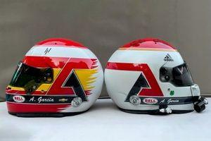 Helm: Antonio Garcia, Corvette Racing, in Erinnerung an Adrian Campos