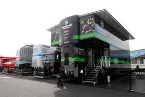 Hospitalidad del equipo Kawasaki Racing