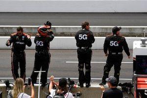 Equipo de Will Power, Team Penske Chevrolet celebra