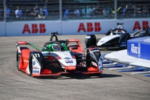 Lucas Di Grassi, Audi Sport ABT Schaeffler, Audi e-tron FE07, Edoardo Mortara, Venturi Racing, Silver Arrow 02