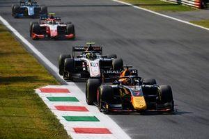 Liam Lawson, Hitech GrPrix, Theo Pourchaire, ART GrPrix, Oscar Piastri, Prema Racing