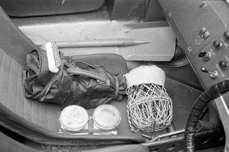 Cockpit of the car of Bob Bondurant, Dan Gurney, Shelby American