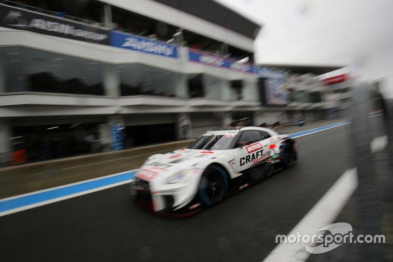 Frederic Makowiecki, NDDP Racing con B-Max Nissan GT-R NISMO GT500