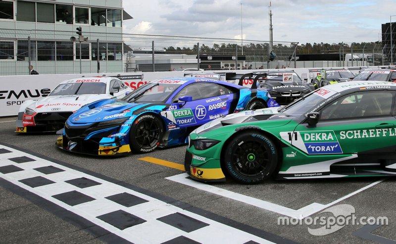 Audi RS 5, Honda NSX, BMW M4
