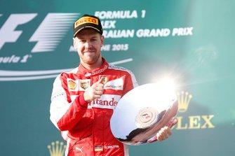 Обладатель третьего места Себастьян Феттель, Ferrari