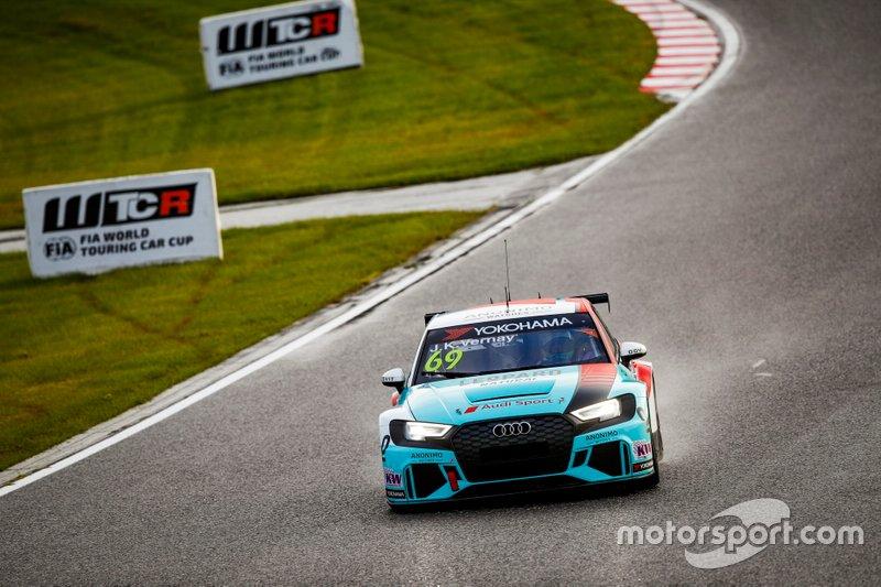 Жан-Карл Вернэ, Leopard Racing Team Audi Sport, Audi RS3 LMS TCR
