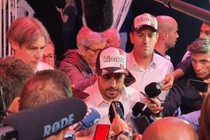 Fernando Alonso, Toyota Gazoo Dakar press conference