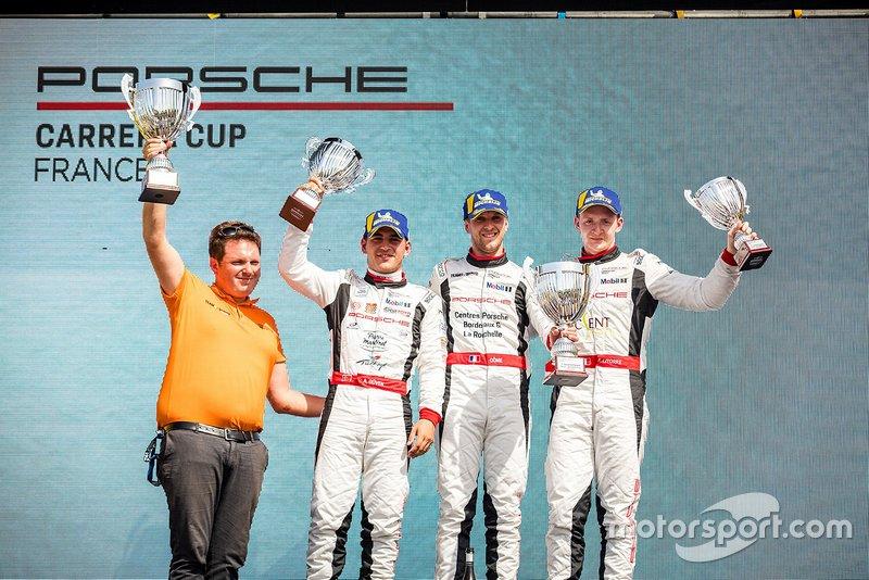 Podyum 2. yarış: Ayhancan Güven, Martinet by Alméras, Côme Ledogar, Team 85 / Bourgoin Racing, Florian Latorre, RMS