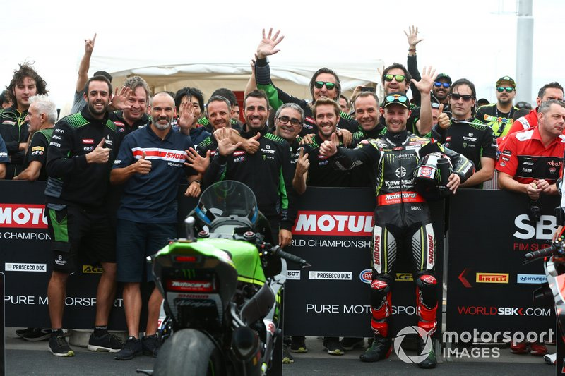 WorldSBK, equipos: Kawasaki Racing Team