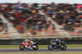 Leon Camier, Honda WSBK Team, Loris Baz, Ten Kate Racing Yamaha