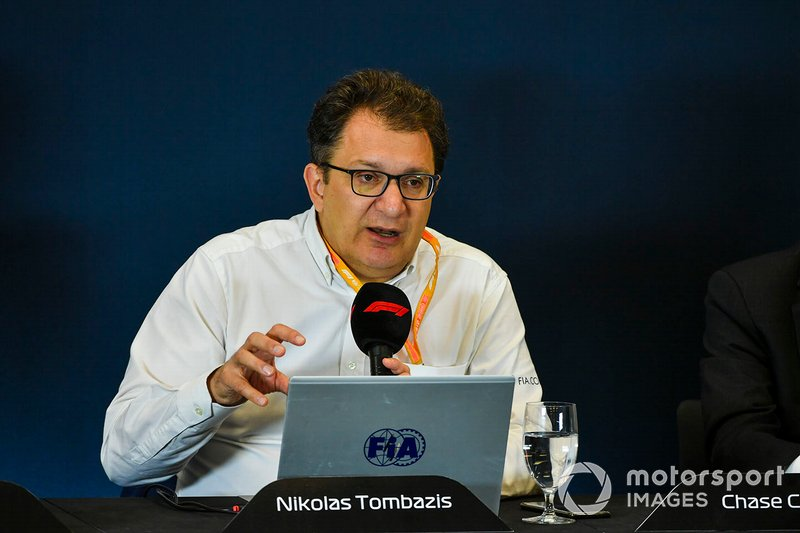Nikolas Tombazis. The 2021 Formula 1 technical regulations are unveiled. Nikolas Tombazis