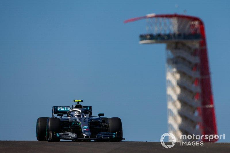 1: Valtteri Bottas, Mercedes AMG W10, 1'32.029