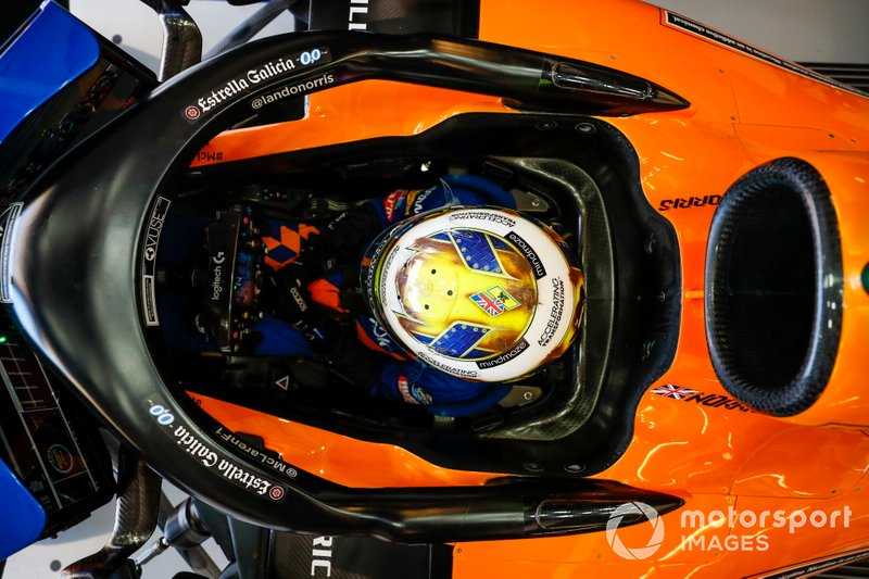 7º: Lando Norris, McLaren